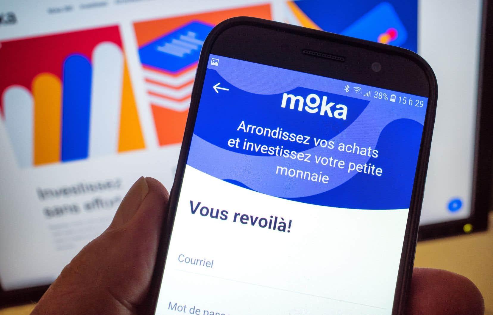 Moka, qui s'appelait Mylo jusqu'à cet été, est connue au Canada pour son application de finances personnelles.