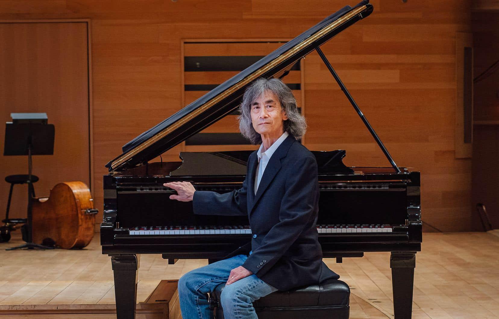 Le troisième et dernier concert webdiffusé de Kent Nagano à l'OSM repose sur la symbolique forte de l'adieu et du renouveau.