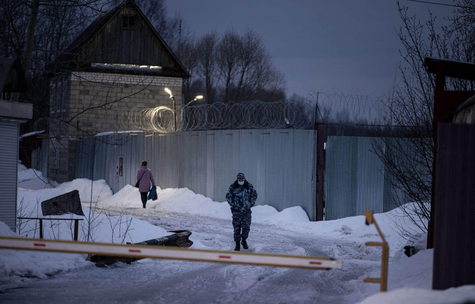 L'opposant est emprisonné depuis début mars dans une colonie pénitentiaire réputée très dure à Pokrov, à 100km de la capitale russe.