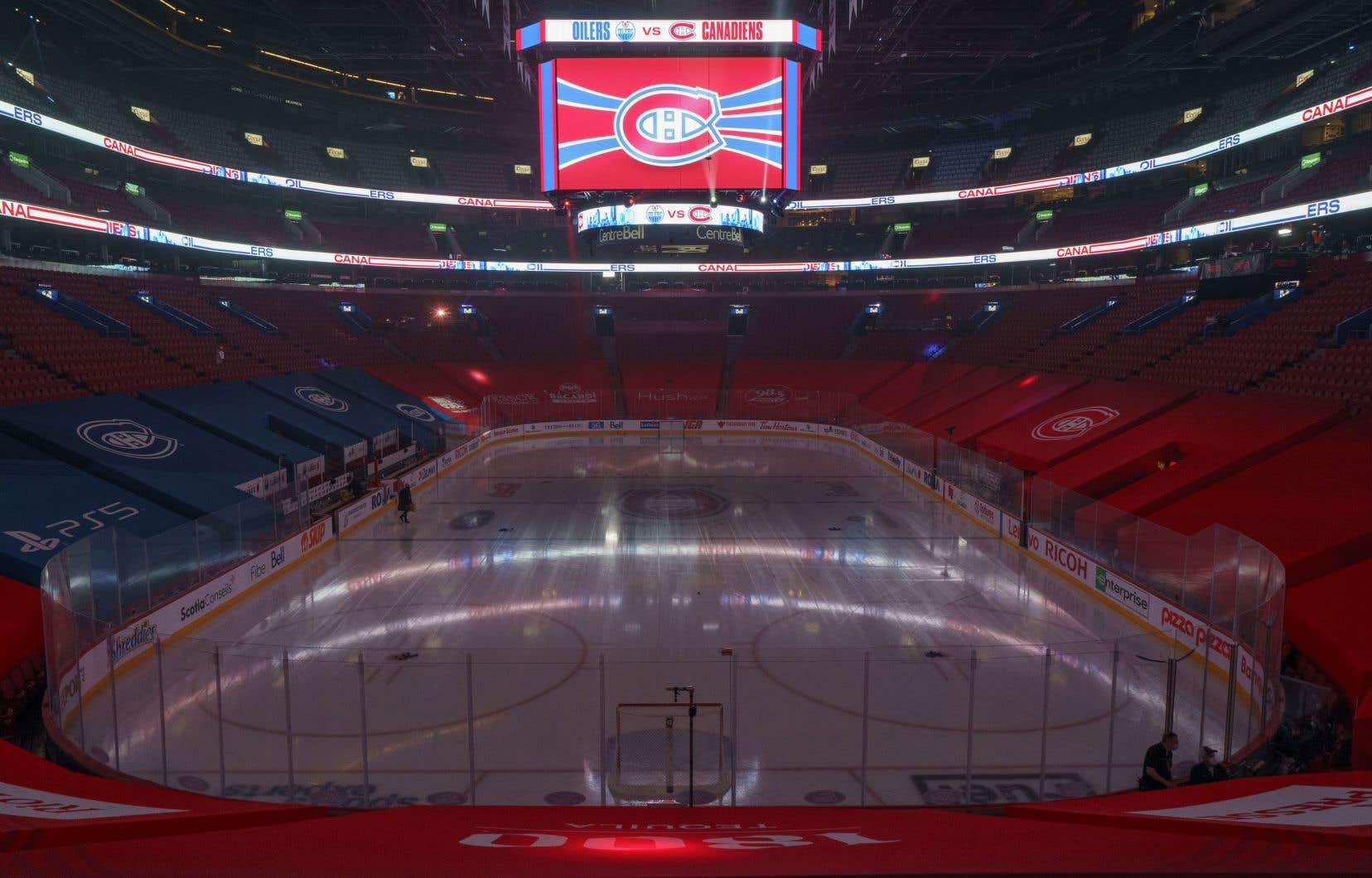 Les matchs prévus cette semaine entre le Canadien et les Oilers ont été remis, ainsi que le match face aux Sénateurs d'Ottawa qui était à l'horaire dimanche.