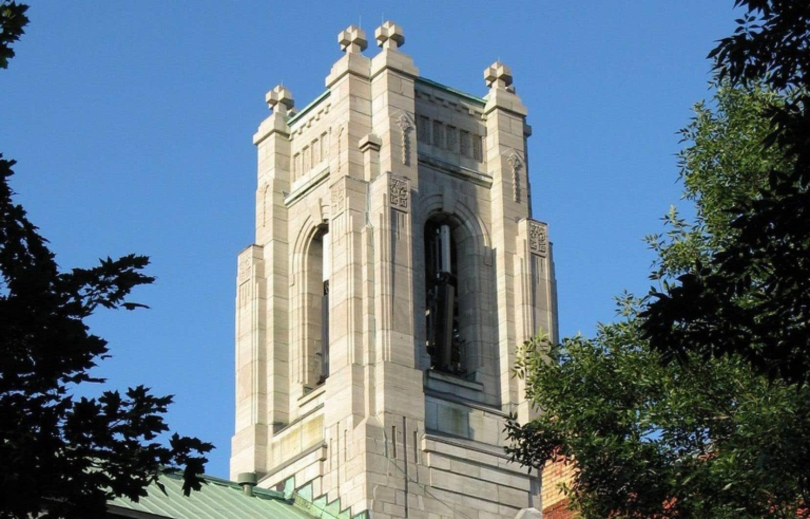 Construite au début des années1930, l'église Saint-Esprit-de-Rosemont est considérée comme la seule église de style Art déco à Montréal.