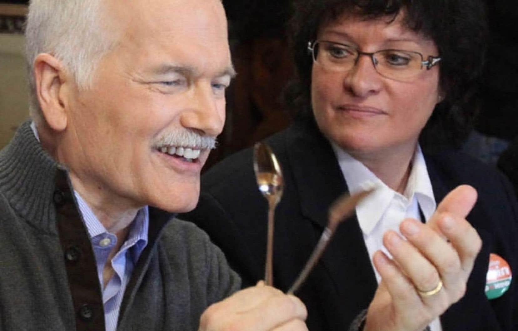 Jack Layton et Françoise Boivin<br />