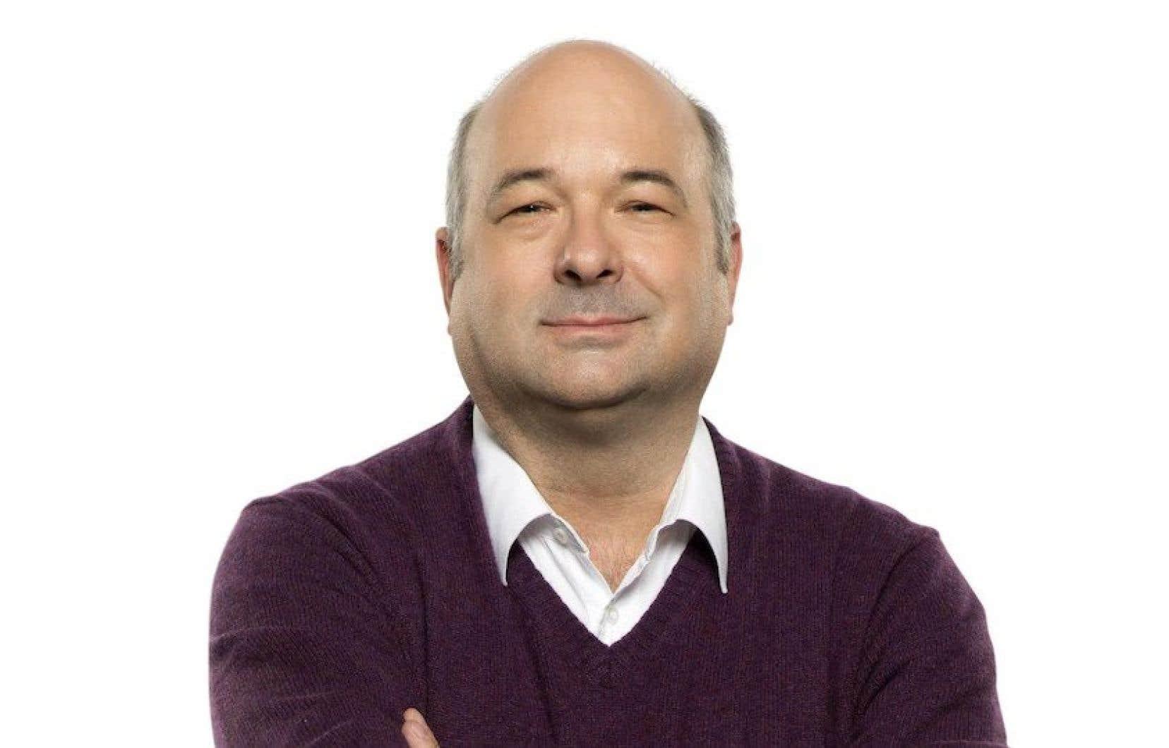 L'animateur Michel C. Auger