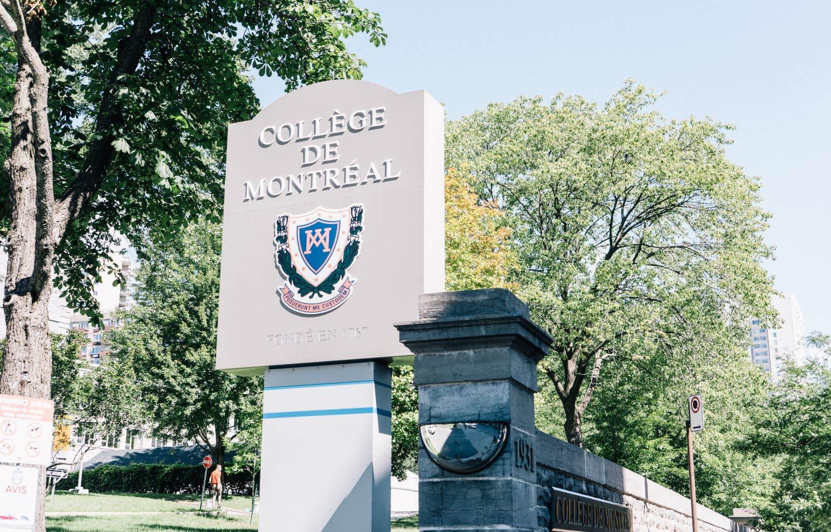Le vendredi 19mars dernier, la directrice du Collège de Montréal, Patricia Steben, est avertie qu'un de ses élèves est déclaré positif à la COVID-19. Le lendemain après-midi, on lui a annoncé qu'il s'agissait finalement d'un cas présumé de variant.