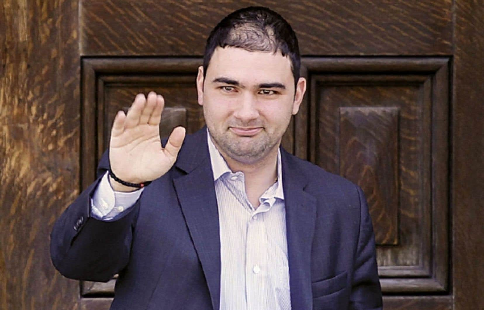 Dimitri Soudas, le directeur des communications de Stephen Harper