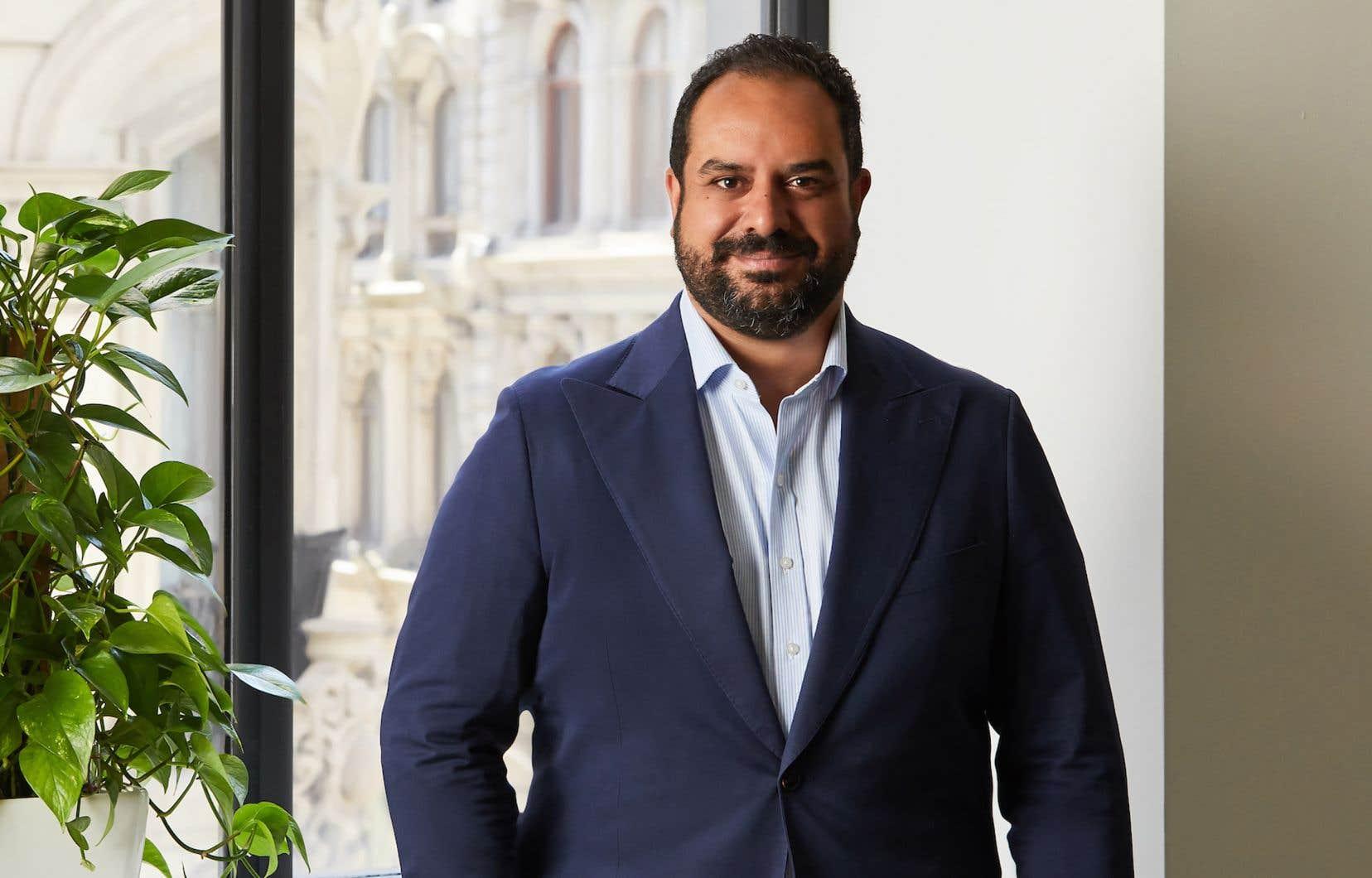 Cofondateur et président-directeur général de l'entreprise Dialogue, Cherif Habib