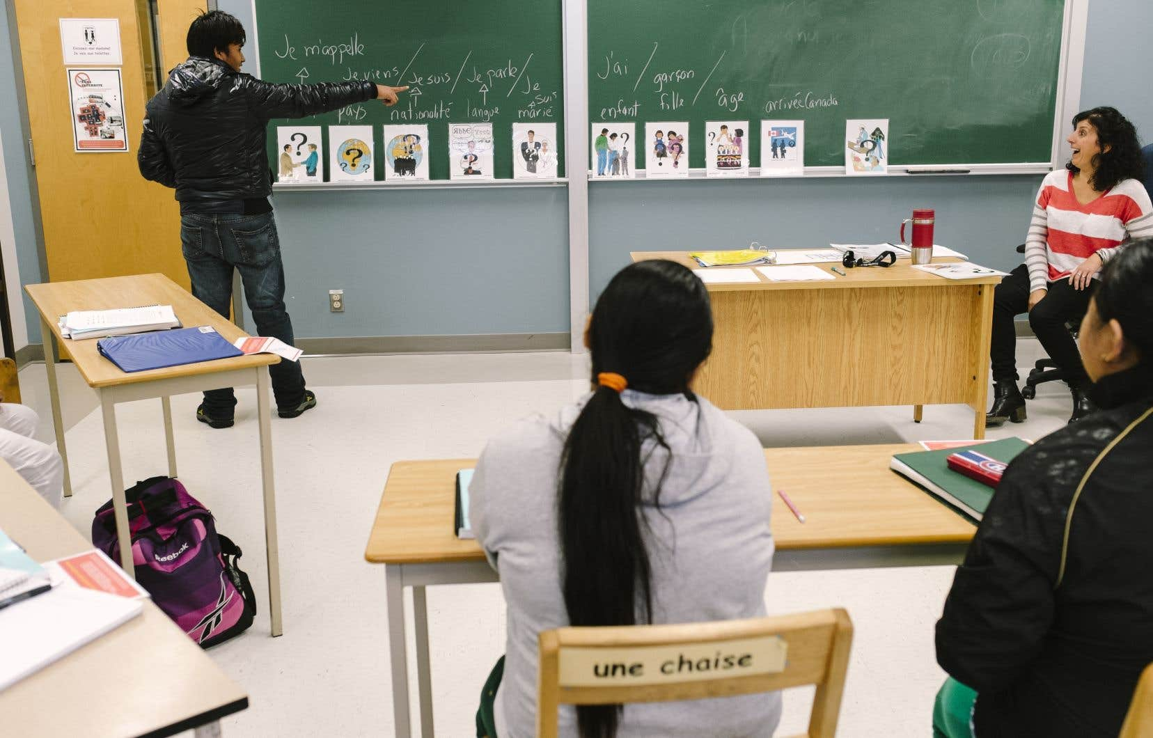 Entre 2010 et 2013, 31% des quelque 50 000 immigrants (de 16 ans et plus) ne parlant pas français avaient participé à des cours de francisation, rapportait la vérificatrice générale, Guylaine Leclerc.