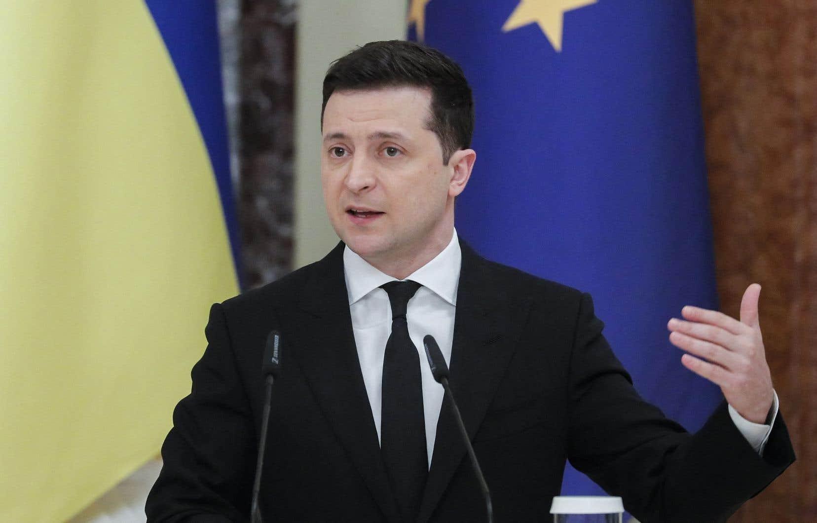 Vingt soldats ukrainiens ont été tués et 57 blessés depuis le début de l'année, a indiqué jeudi le président Zelensky, alors que Kiev avait fait état de 50 soldats tués sur toute l'année 2020.