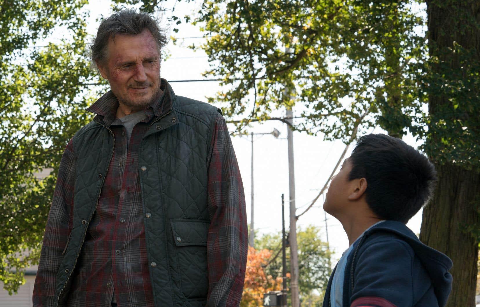 Liam Neeson joue à nouveau, dans «The Marksman», les héros de film d'action gériatrique.
