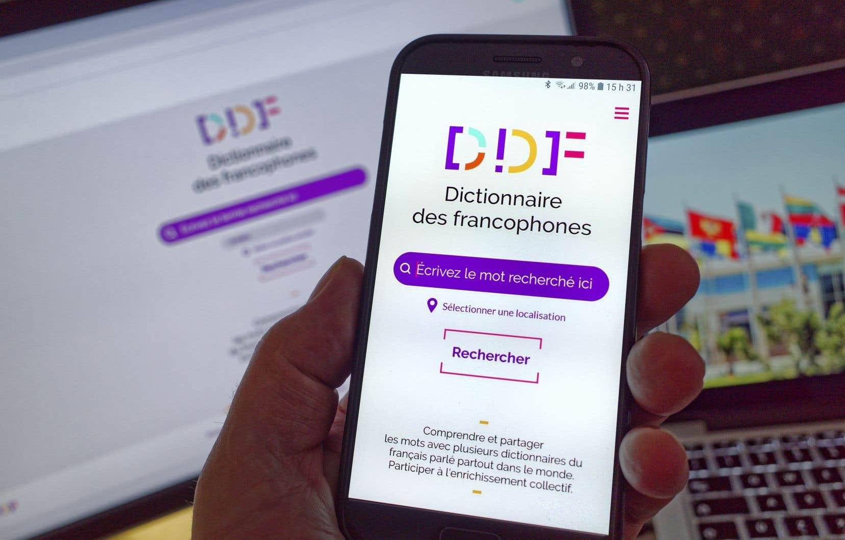 Plus de 500 000 mots et expressions ont été recensés dans le «Dictionnaire des francophones», soit le double d'autres dictionnaires de référence.