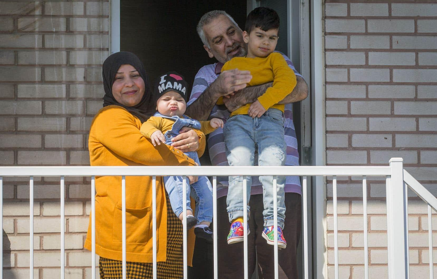 Gulistan Muhammed et son mari, Abdulghani Muho, 43ans, ont quitté la Syrie en 2013.