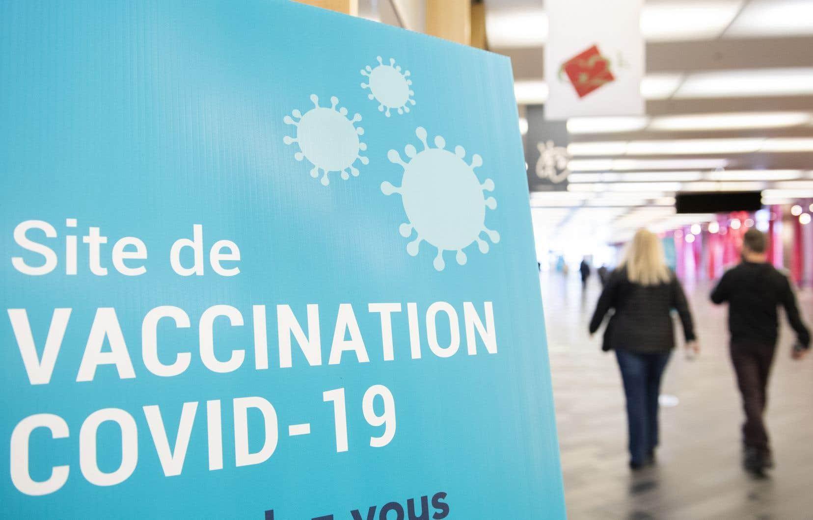 Les taux de vaccination sont de 59% chez les Montréalais âgés de 60 à 64ans et de 70% chez ceux âgés de 65 à 69ans.