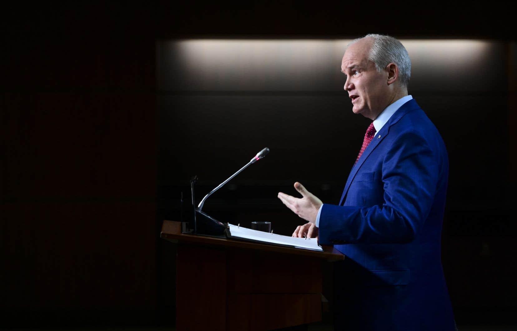 Le chef des conservateursdemande au gouvernement Trudeau de nommer un moniteur spécial du Bureau du vérificateur général pour examiner la réponse à la pandémie en temps réel.