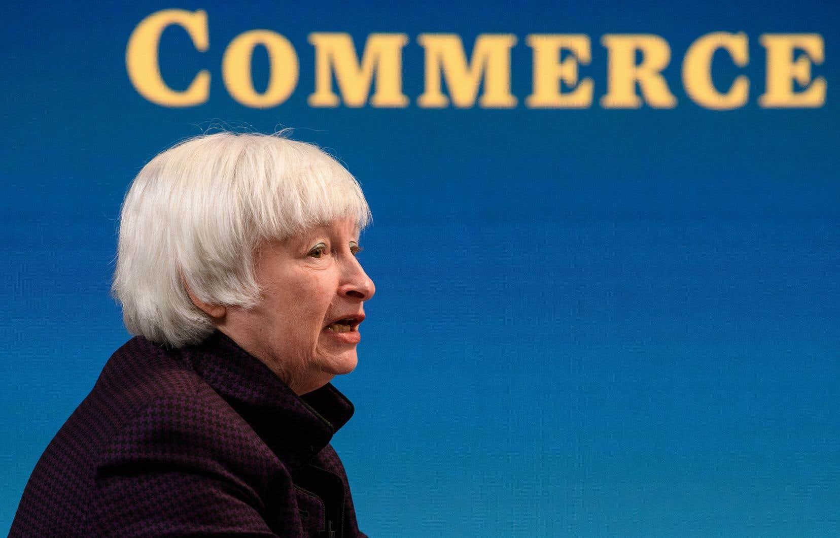 «Washington, par la voix de sa secrétaire au Trésor, Janet Yellen, cherche à convaincre ses partenaires du G20 d'imposer aux multinationales un taux de 21%», explique l'auteur.