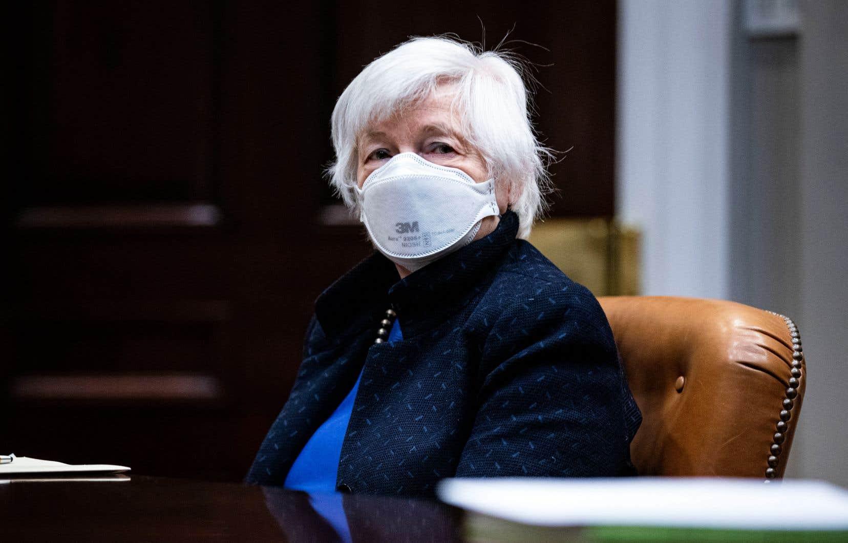 Janet Yellen souhaite mettre fin à la course à laquelle se livrent les pays en proposant aux sociétés des taux d'imposition toujours plus faibles.