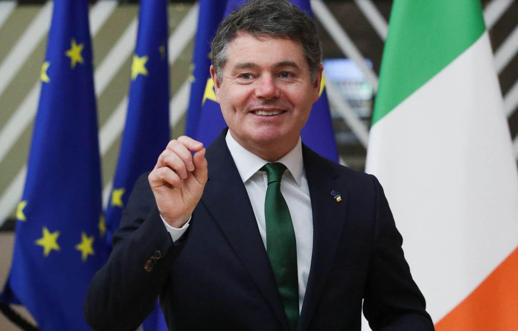 Le ministre des Finances irlandais, Paschal Donohoe