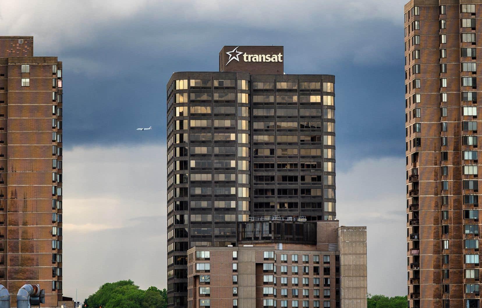 Le siège social de Transat A.T., à Montréal