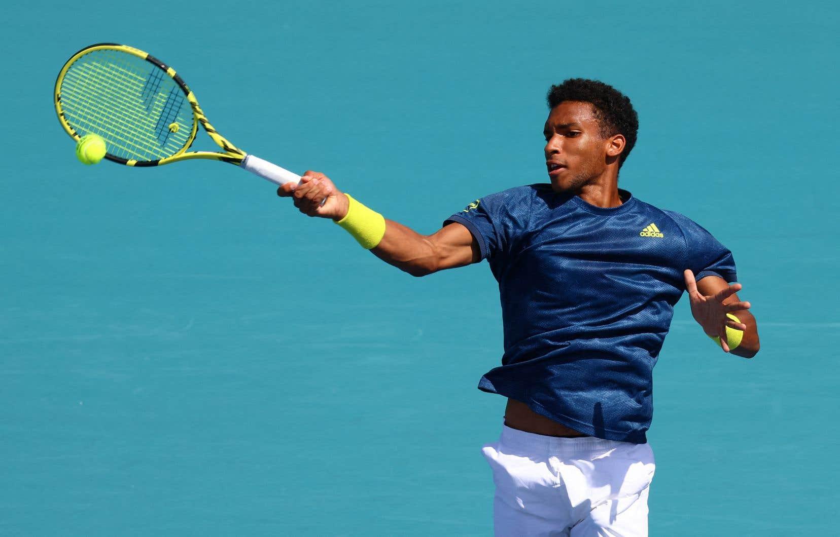 Félix Auger-Aliassimeest toujours à la recherche d'un premier titre en carrière sur le circuit de l'ATP.