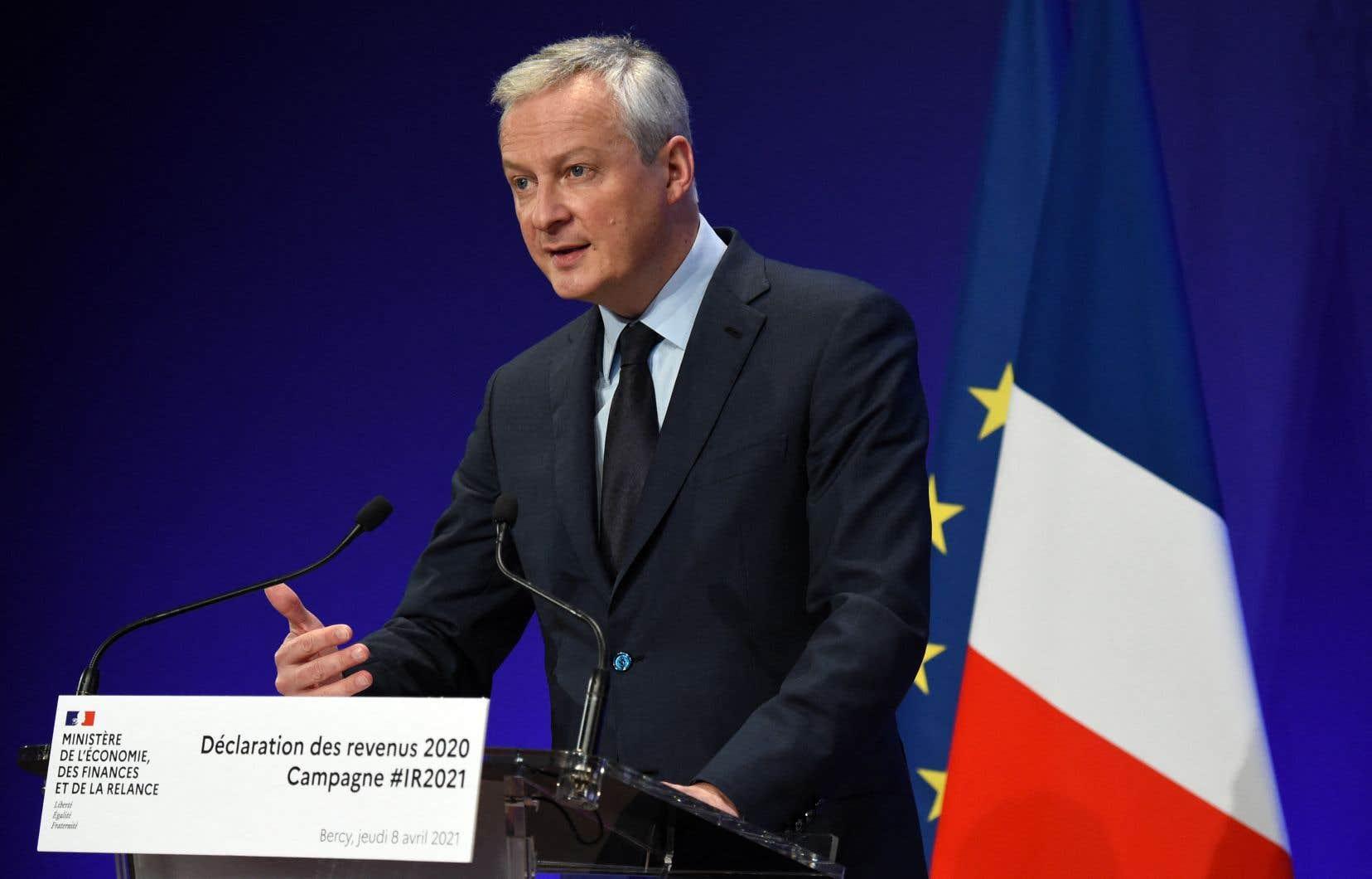 «Le dumping fiscal est un poison pour l'Europe» selon le ministre de l'Économie, Bruno Le Maire.