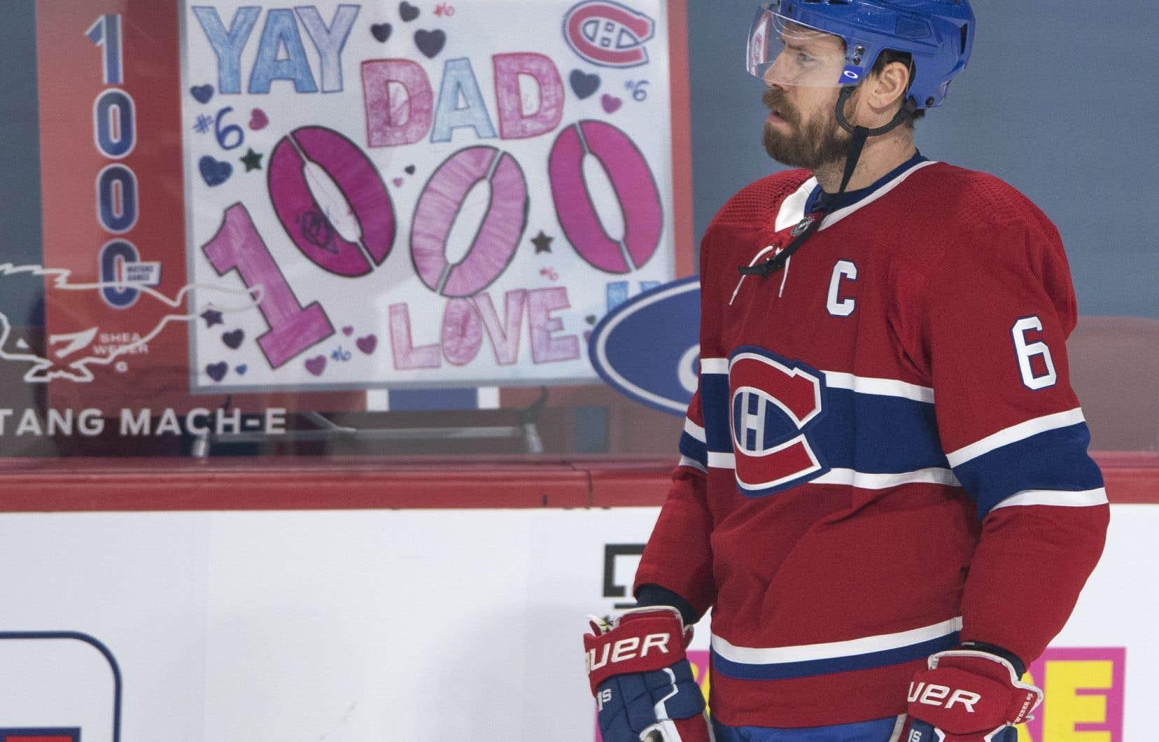 Shea Weber sera associé à Brett Kulak pour le match de lundi contre les Leafs de Toronto.