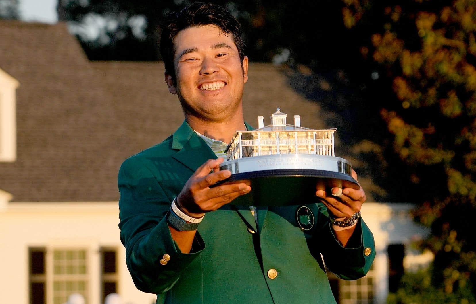 Le Japonais Hideki Matsuyama