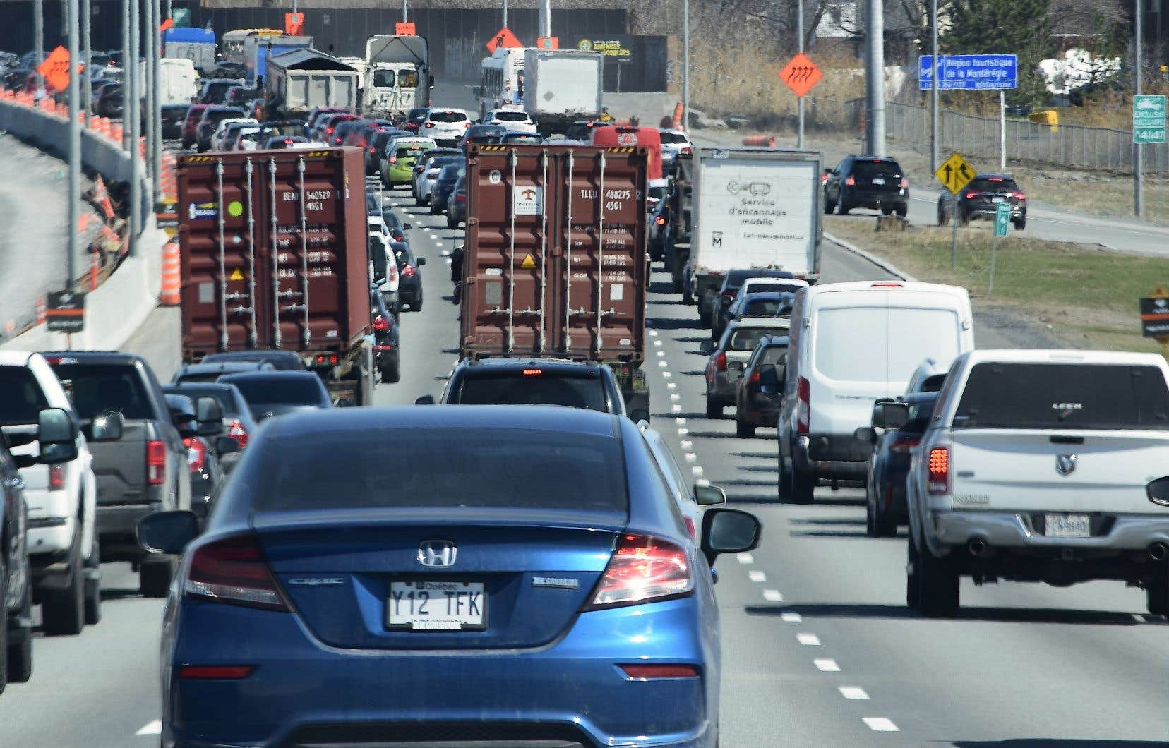Les émissions de gaz à effet de serre du transport routier n'ont jamais cessé d'augmenter depuis 25 ans.
