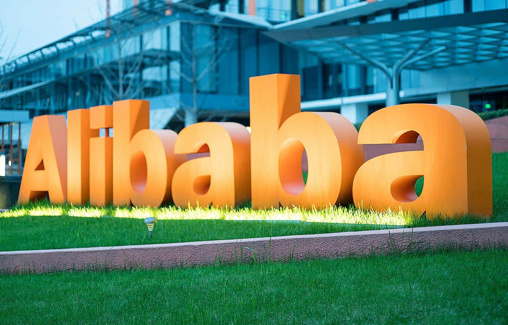 Alibaba faisait l'objet d'une enquête des autorités chinoises depuis décembre pour «suspicion de pratiques monopolistiques».