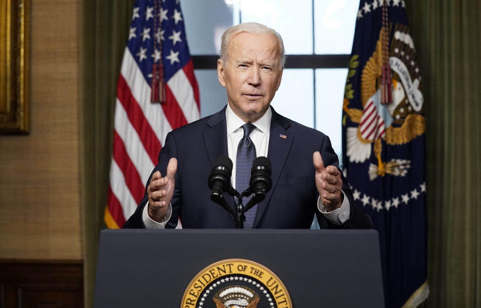 Joe Biden a confirmé mercredi que «l'heure est venue de mettre fin à la plus longue guerre de l'Amérique» en retirant toutes les troupes américaines d'Afghanistan d'ici le 20e anniversaire des attentats du 11 septembre 2001.