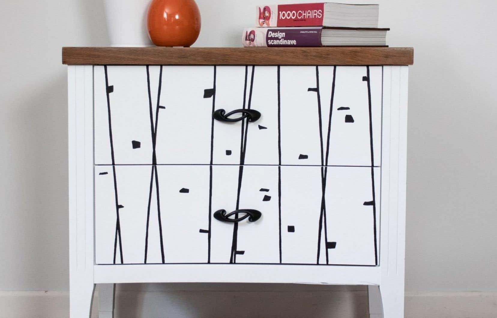 L'entreprise Second Design offre une cure de jeunesse aux meubles à l'aide de matériaux recyclés.