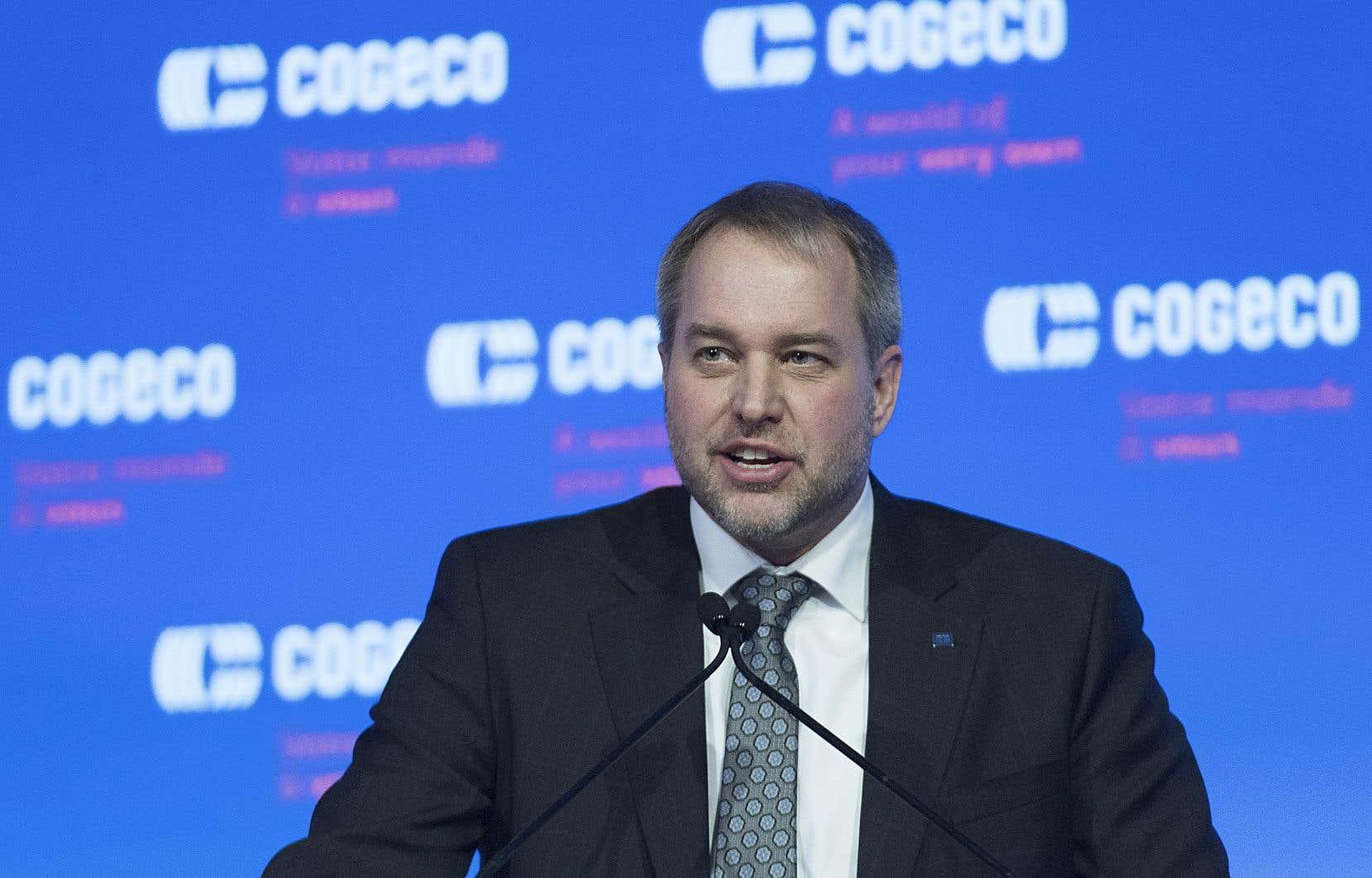 Le président et chef de la direction de Cogeco, Philippe Jetté.
