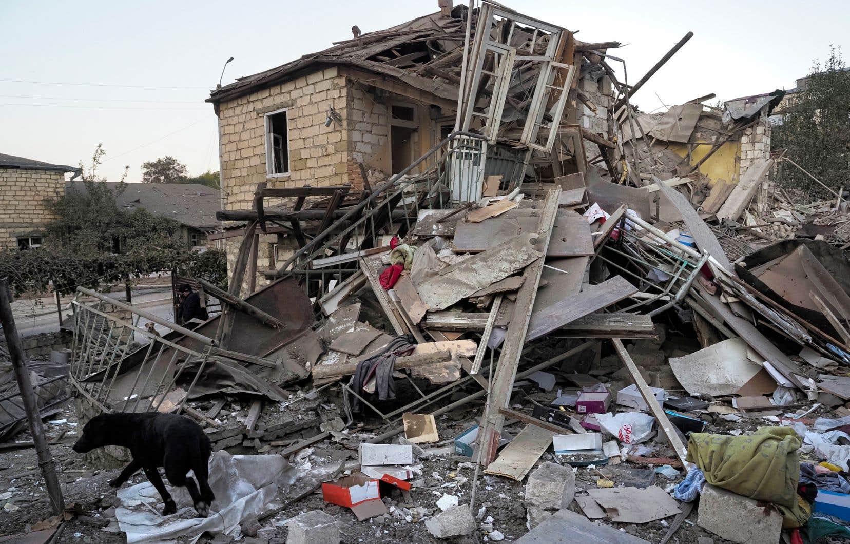«Le Canada a donc sa part de responsabilité dans le carnage perpétré dans la région du Haut-Karabakh», affirme l'auteur.