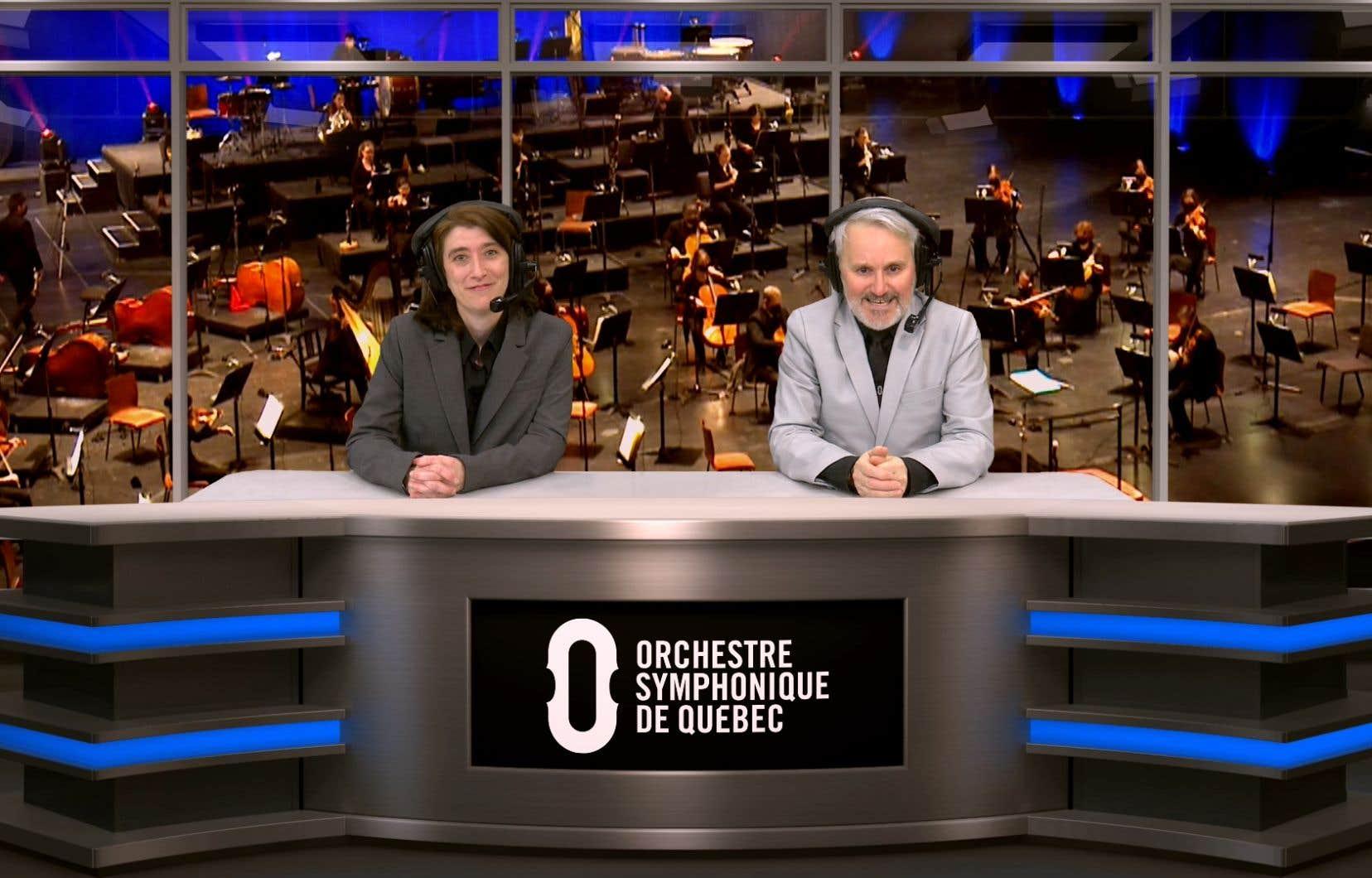 Jusqu'à dimanche, l'Orchestre symphonique de Québec met à disposition sur YouTube un original concert «famille», le «Championnat symphonique».
