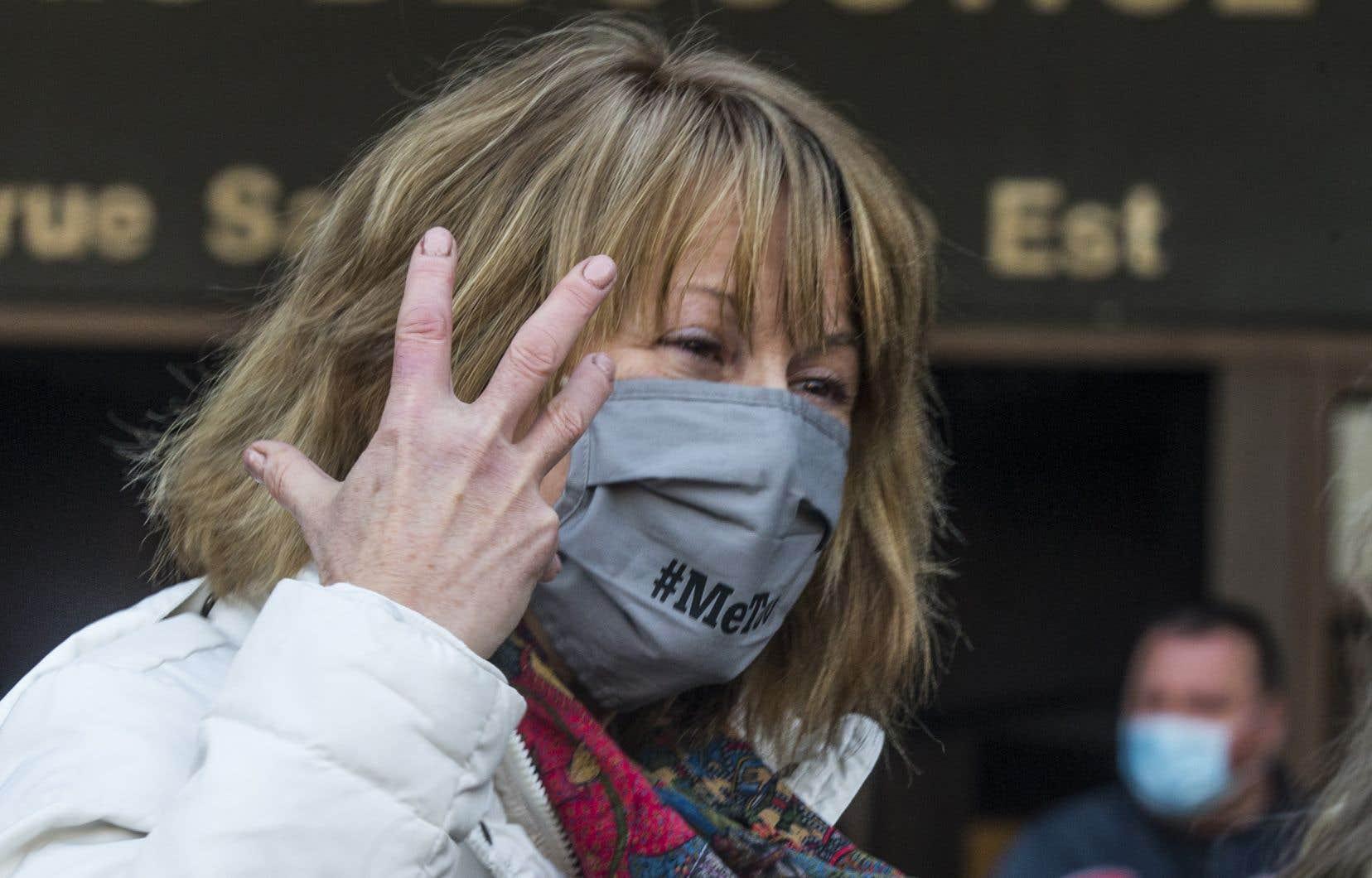 La comédienne Patricia Tulasne, qui a été porte-parole du groupe Les Courageuses, intente maintenant une poursuite civile individuelle contre Gilbert Rozon.