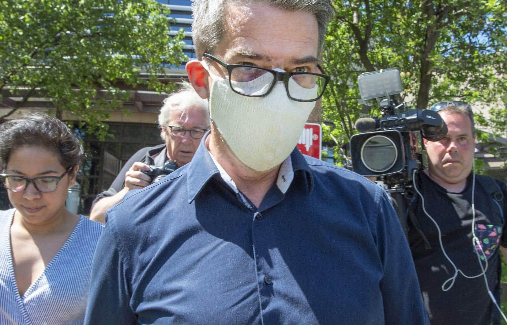 André Boisclair a été arrêté en mai 2020 pour répondre à des accusations concernant des événements qui se seraient déroulés en janvier 2014.