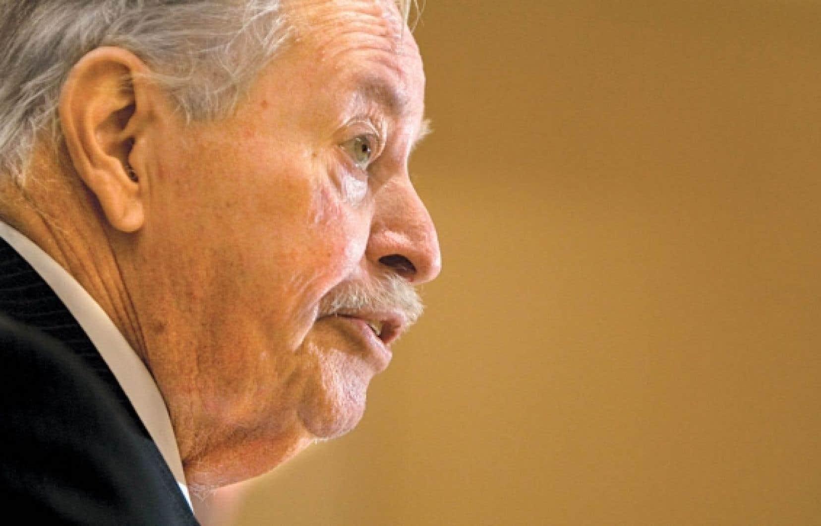 Jacques Parizeau pose un regard critique sur les choix énergétiques du Québec.<br />