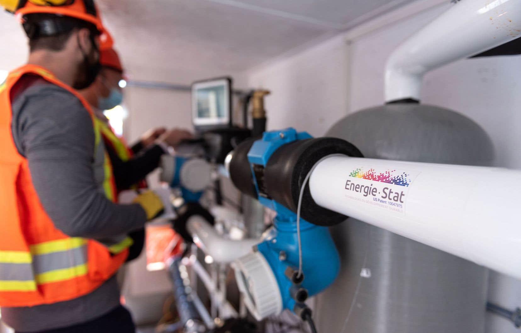 Pour sortir les hydrocarbures des bâtiments institutionnels et commerciaux, des solutions existent, comme la technologie de la géothermie à boucle fermée.
