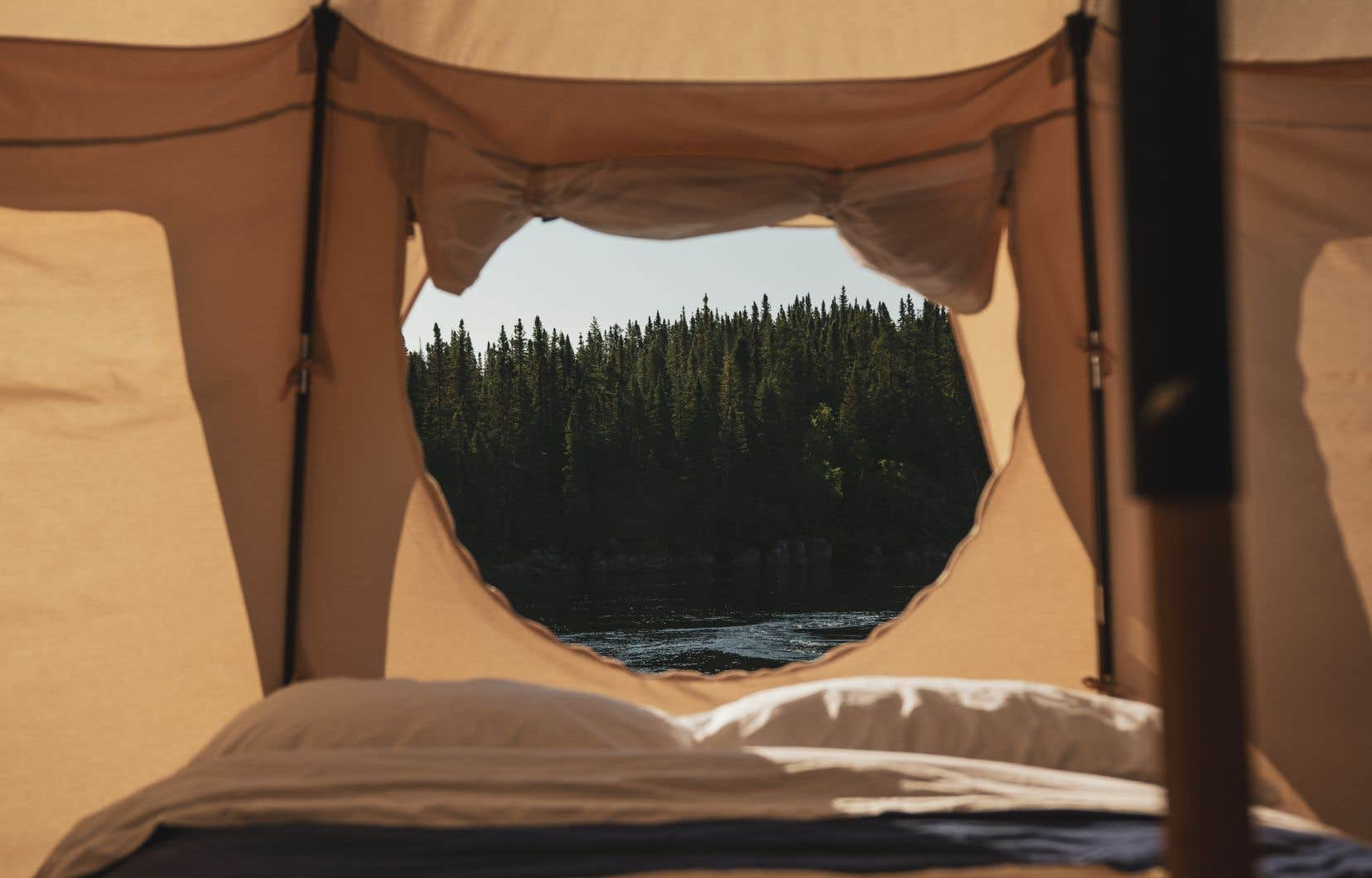 À mi-chemin entre le camping et l'hôtellerie, Hôtel UNIQ se déplacera dans trois régions du Québec au cours des prochains mois.