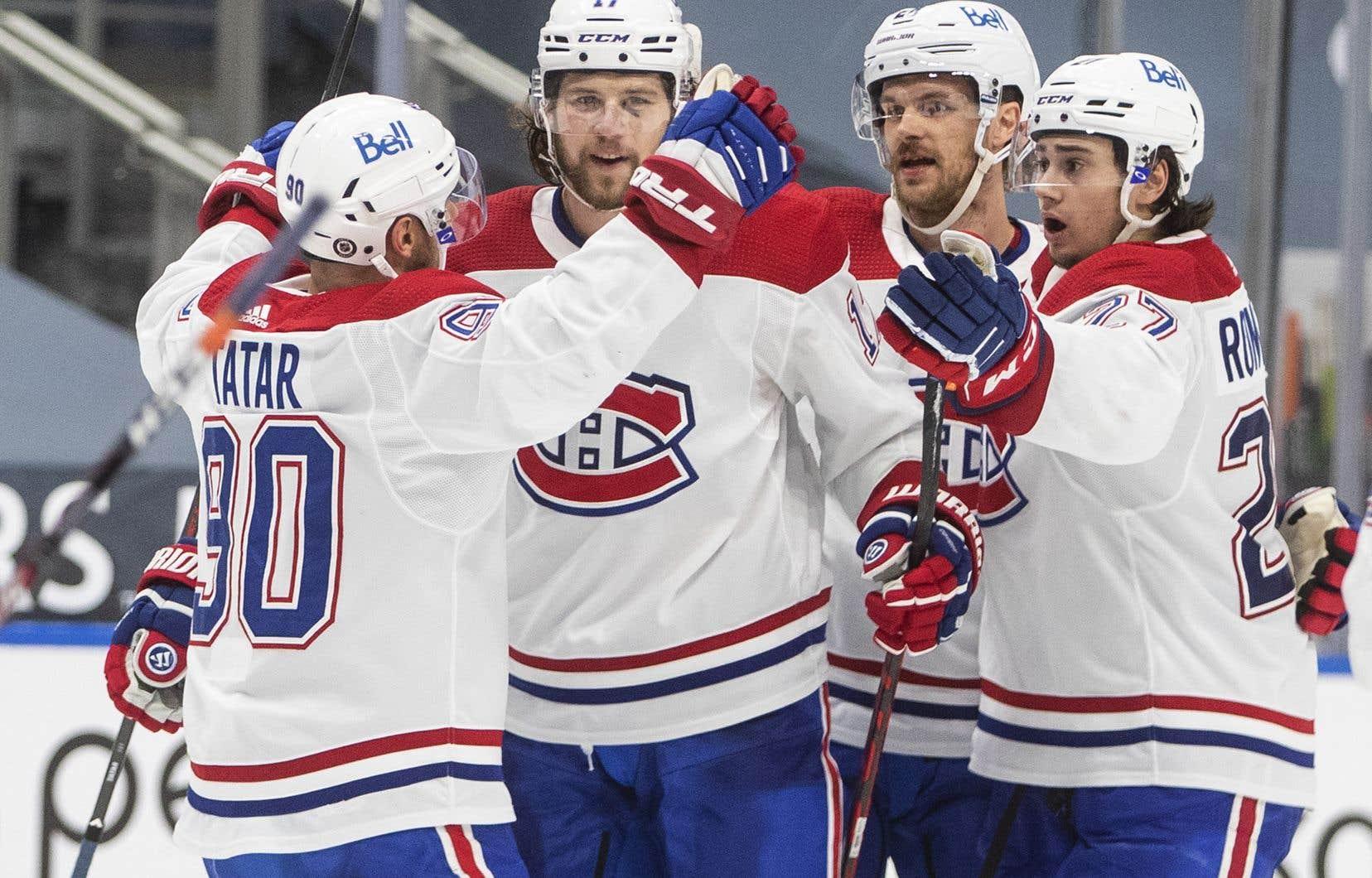 <p>Le Canadien s'est racheté après avoir été renversé par les Oilers, lundi.</p>