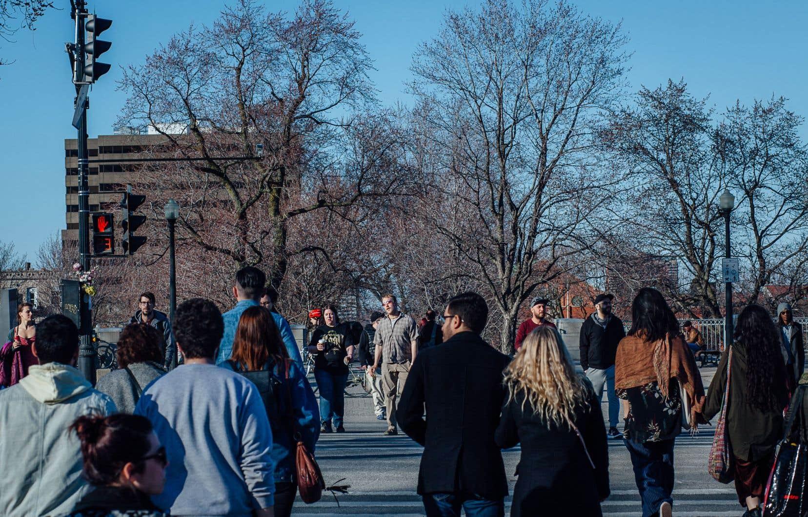 Montréal accueille environ 70% des nouveaux arrivants au Québec.