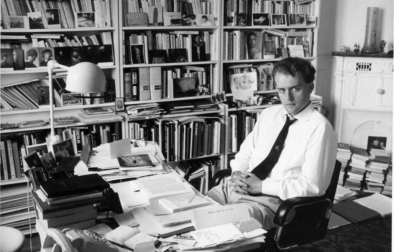 L'écrivain et journaliste français Hervé Guibert a été emporté par le sida en décembre 1991. On le voit ici en 1985.