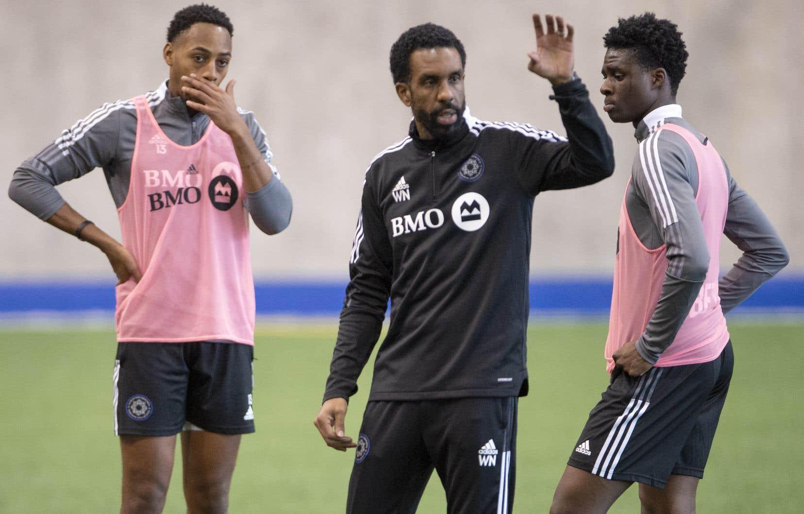 L'entraîneur-chef du CF Montréal, Wilfried Nancy, n'a pas caché qu'il avait été fier du comportement de ses joueurs samedi dernier contre la formation torontoise.