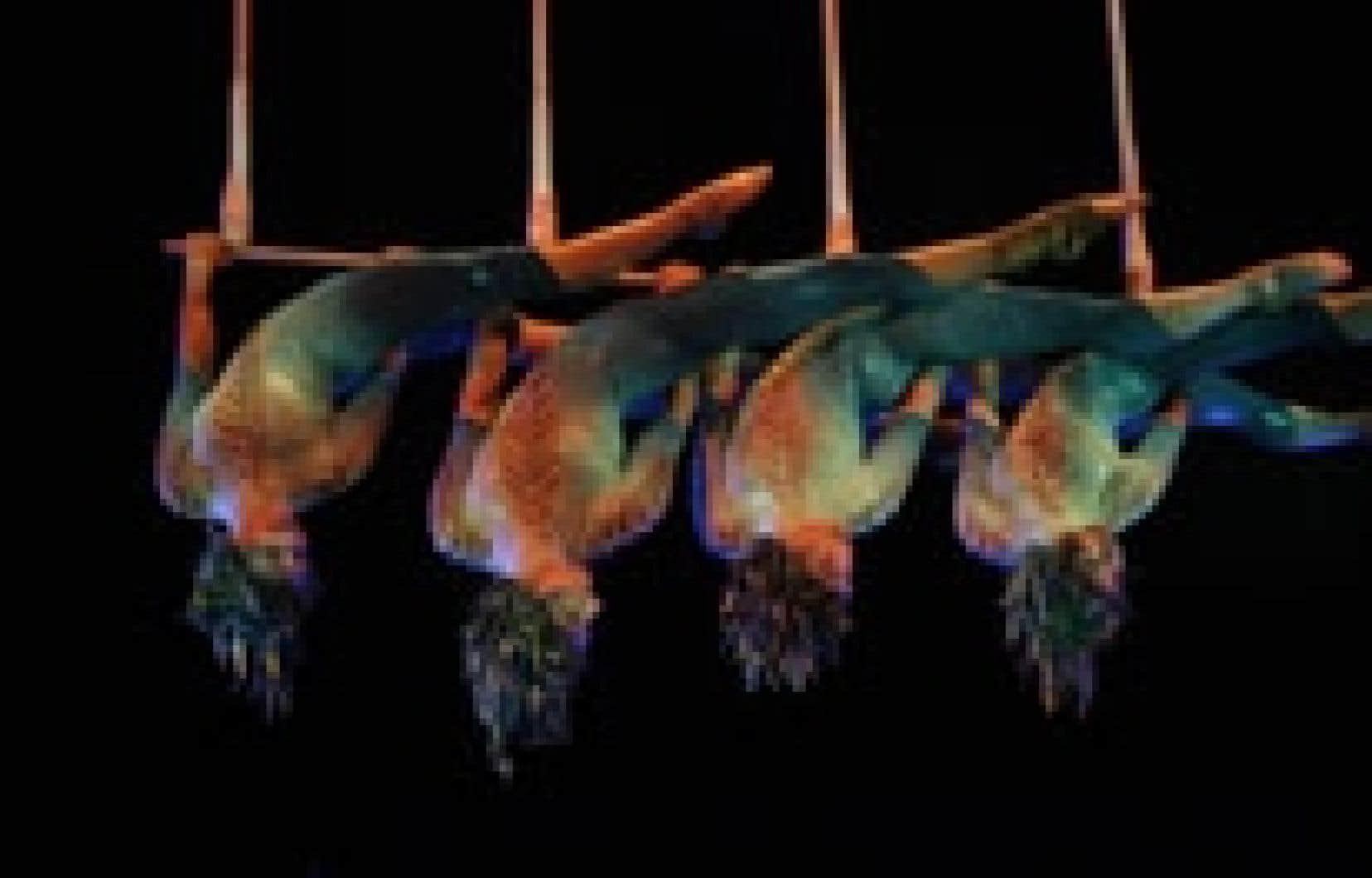 «Le Cirque du Soleil, c'est l'émotion à l'état pur qui fait un tabac dans le monde entier, parti de la rue pour devenir un empire, comme Céline Dion», dit Rapaille.