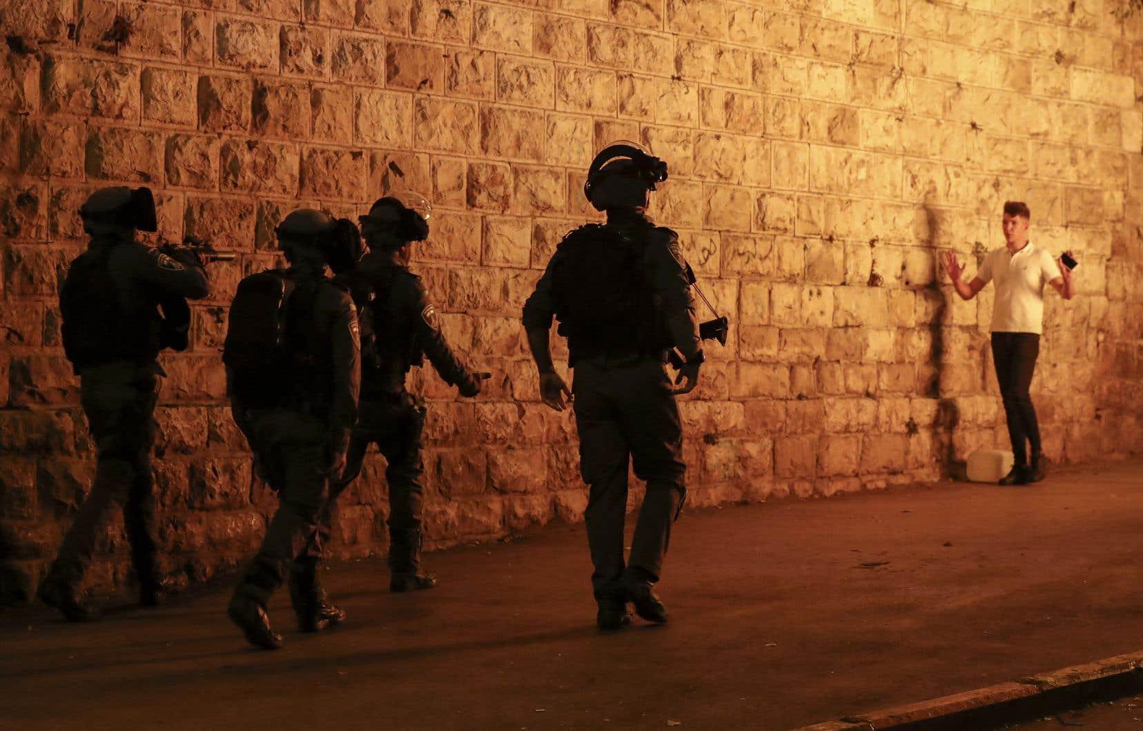 Jérusalem-Est a été le théâtre ces derniers jours de plusieurs manifestations de jeunes palestiniens.