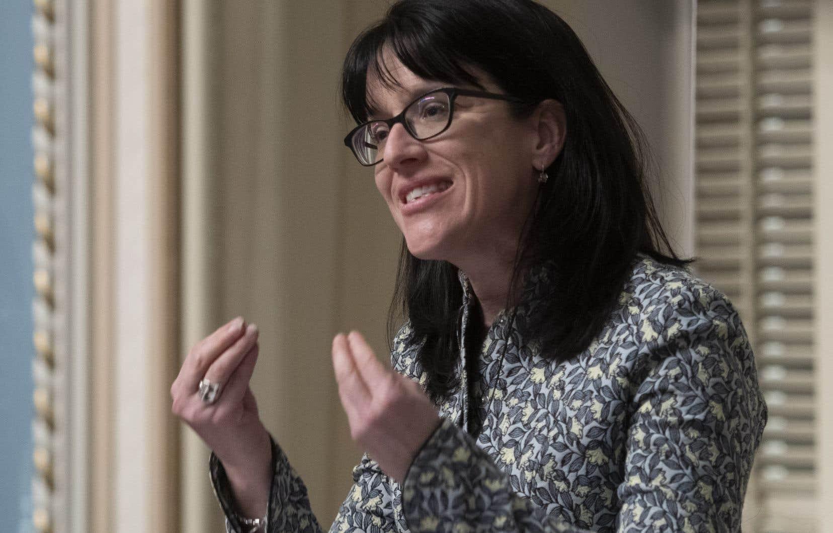 «Il n'y aura pas de référendum en 2022» sur la réforme du mode de scrutin, a déclaré sans détour la ministre Sonia LeBel.