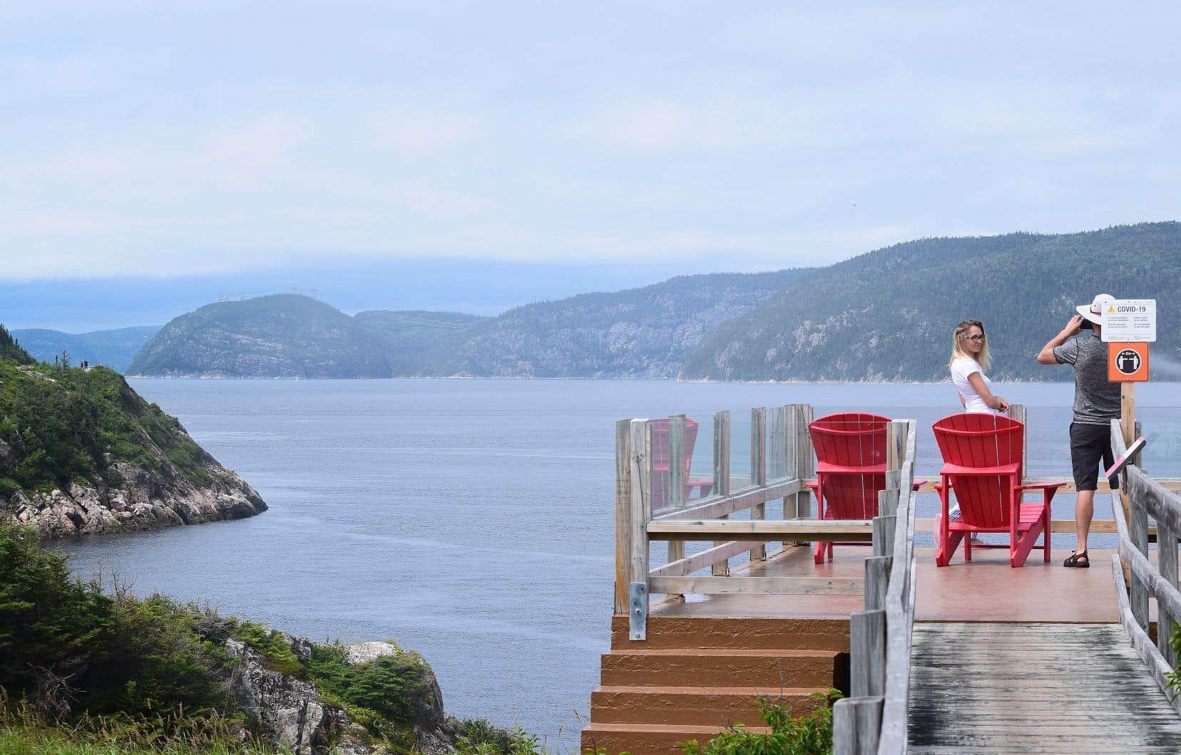 Le projet GNL Québec a soulevé des craintes pour l'image de marque de l'industrie touristique sur le Saguenay.