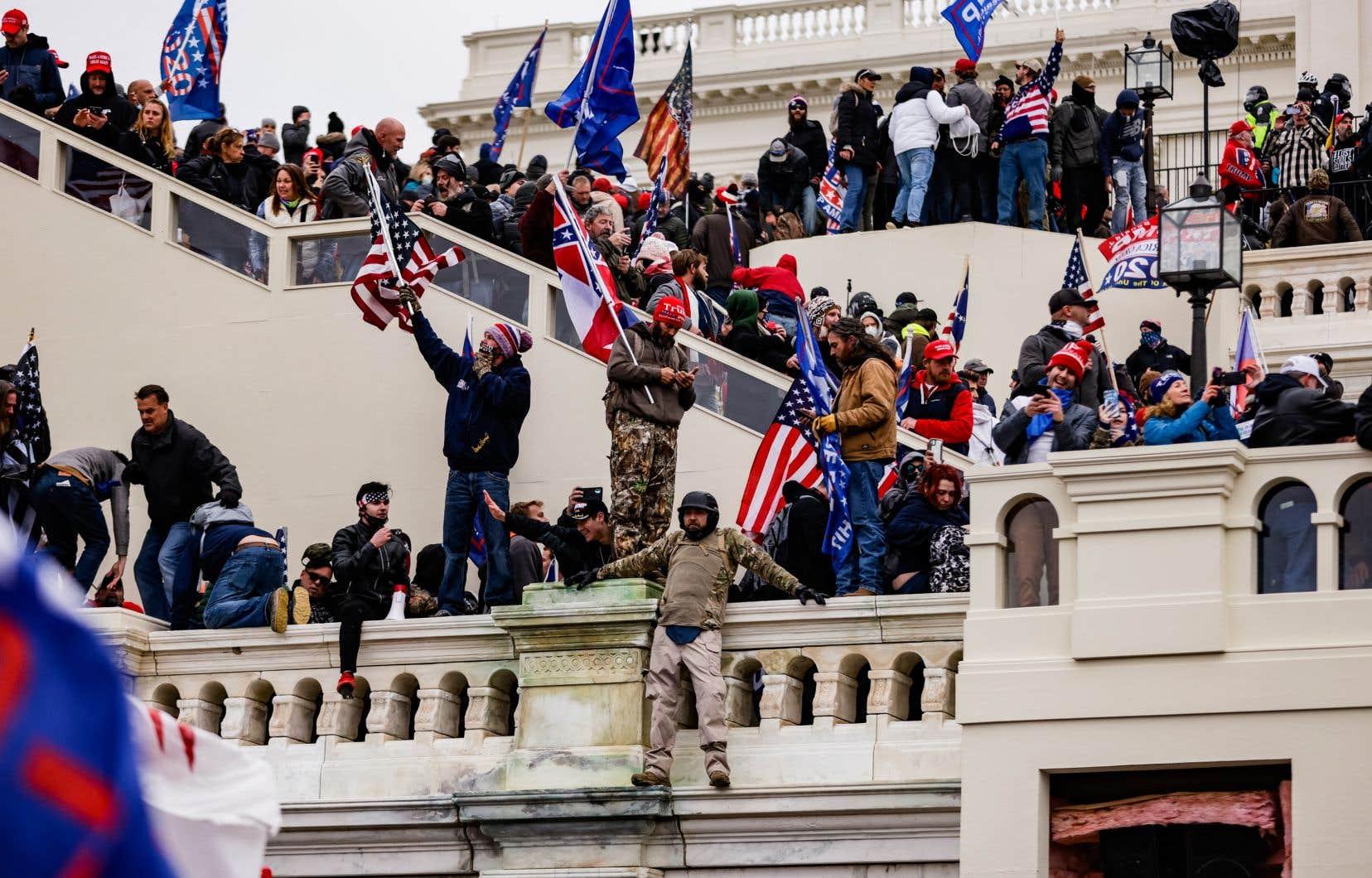 L'attaque contre le Capitole par des partisans de Donald Trump, le 6 janvier dernier