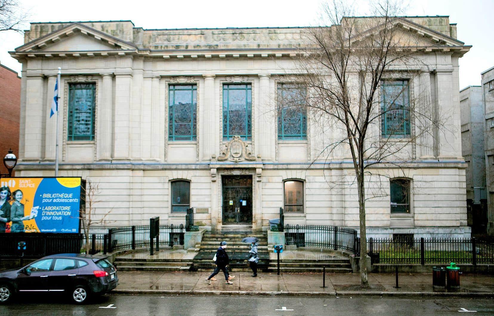 L'étude de faisabilité de la Maison de la chanson et de la musique, qui comprendra un aspect architectural, n'envisage pas la possibilité d'une occupation de la bibliothèque Saint-Sulpice.