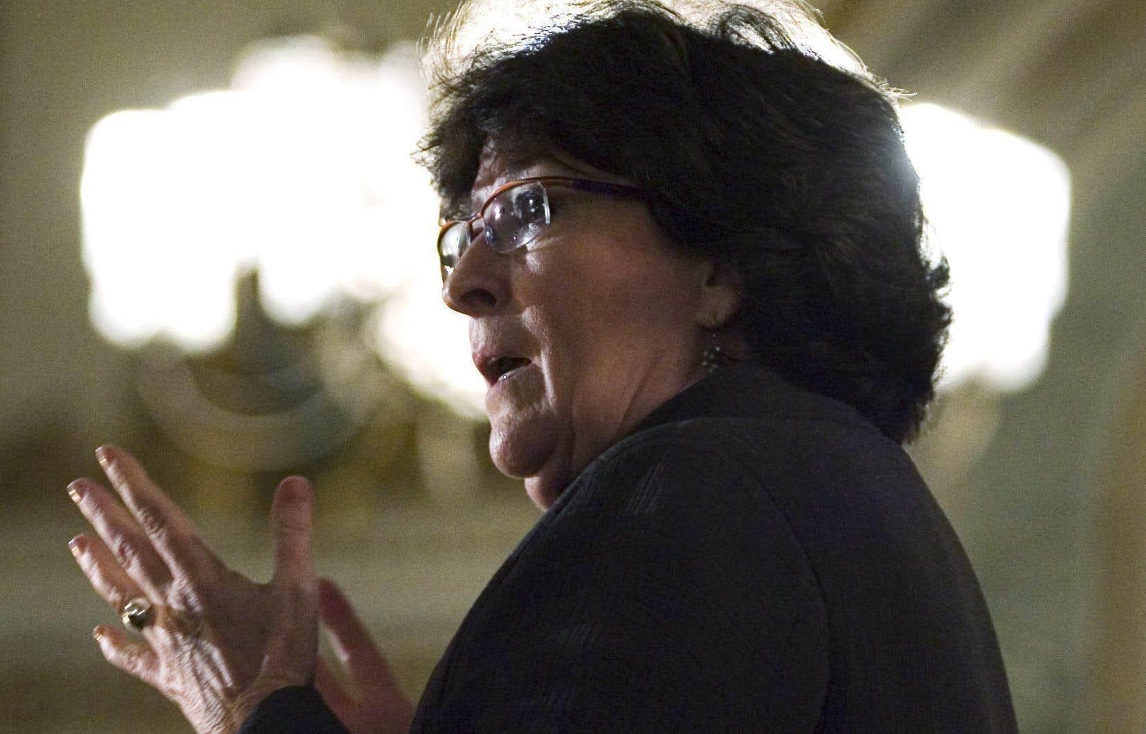 L'ancienne juge de la Cour suprême du Canada, Louise Arbour
