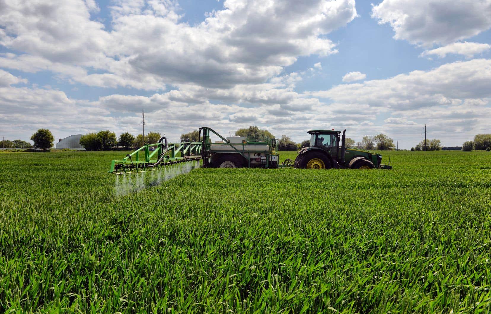 L'an dernier, le gouvernement Legault avait annoncé son désir de réduire la quantité de pesticides de synthèse vendus de 500000 kilogrammes en dix ans.