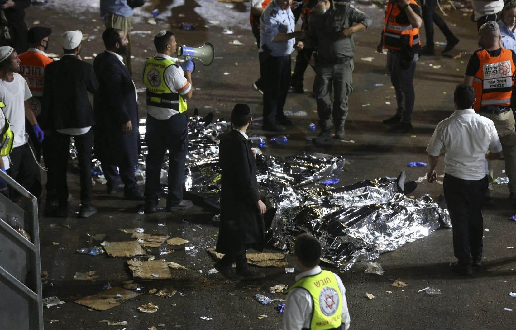 La Magen David Adom—équivalent israélien de la Croix-Rouge—avait plus tôt évoqué au moins 20 blessés dans un état critique, avant de revoir ce bilan à la hausse à des «dizaines de morts» et des dizaines de blessés graves.